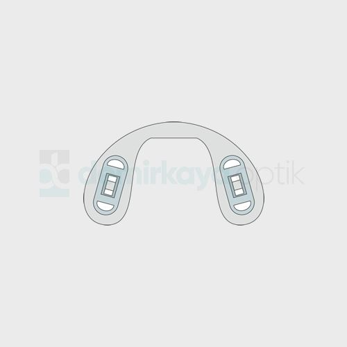 PVC Ortopedik Vidalı Plaket/Çocuk