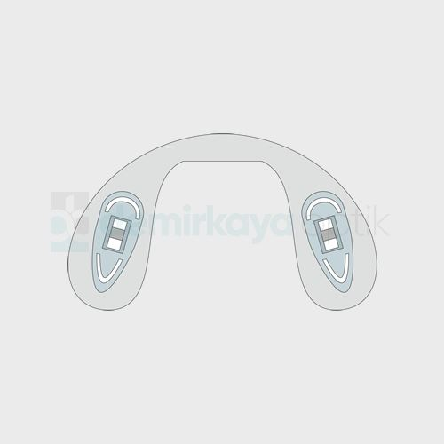 PVC Ortopedik Vidalı Plaket/Büyük
