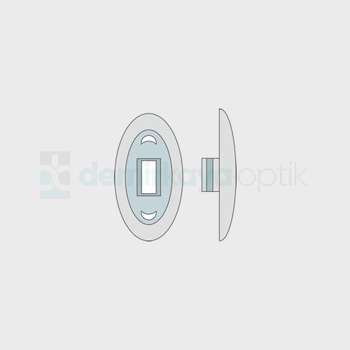 PVC Oval Geçme Plaket