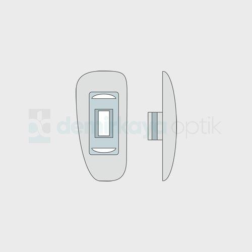 Silikon Taraflı Geçme Plaket 10-10