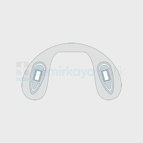 Silikon Ortopedik Geçme Plaket/Büyük