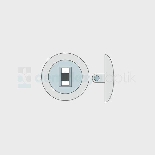 Silikon Yuvarlak Vidalı Plaket 11-9