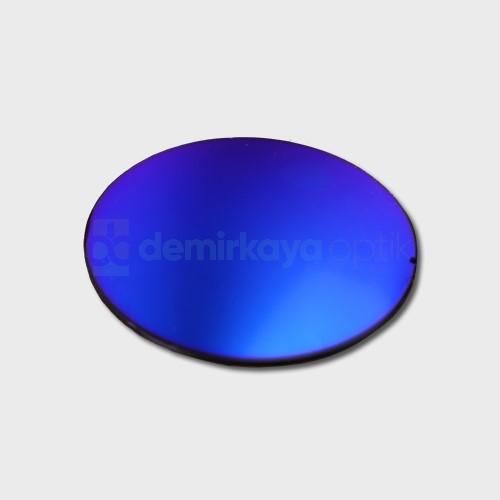 CR-39 Flat Mavi Aynalı Güneş Camı 2B