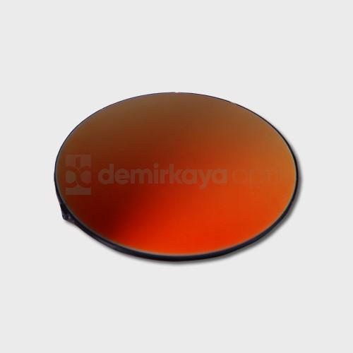 CR-39 Flat Kırmızı Aynalı Güneş Camı 2B