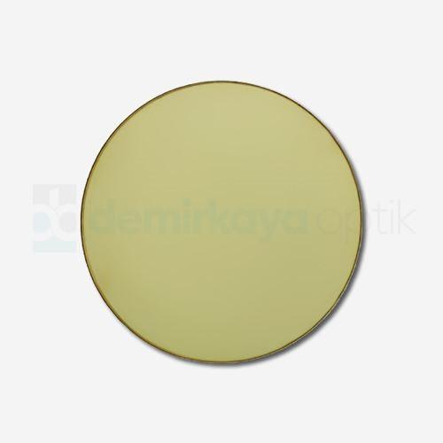 CR-39 Flat Soft Sarı Güneş Camı 2B