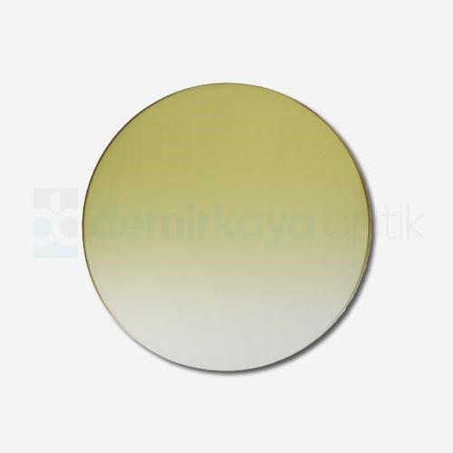 CR-39 Flat Soft Sarı Deg. Güneş Camı 2B