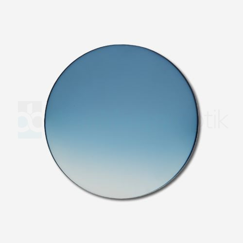 CR-39 Flat Soft Mavi Deg. Güneş Camı 2B