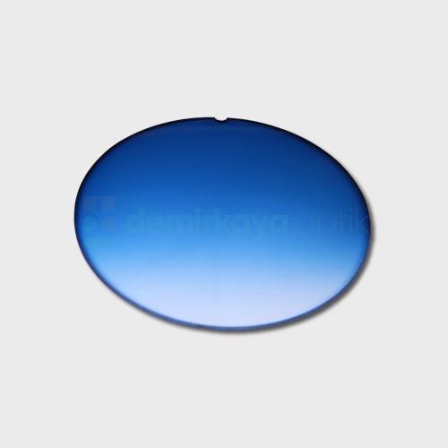 CR-39 Flat Soft Açık Mavi Deg. Güneş Camı 2B